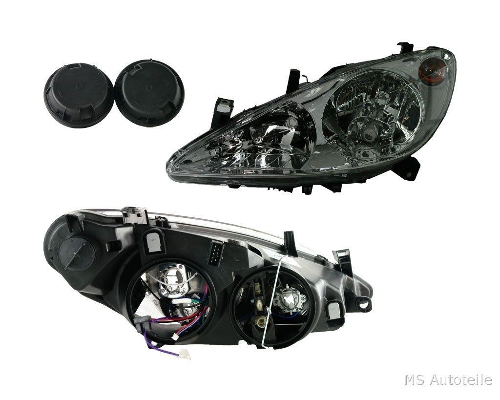 Valeo Scheinwerfer H1 H7 Links Peugeot 307 01 05 6204z2